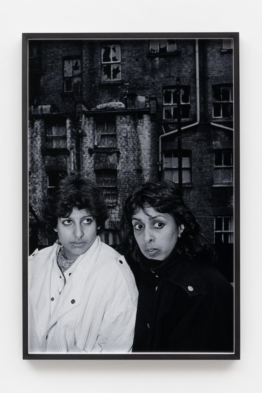 Sunil Gupta Fear, 1986/2021 Archival inkjet print Print: 90.9 x 59.5 cm 35 3/4 x 23 3/8 in