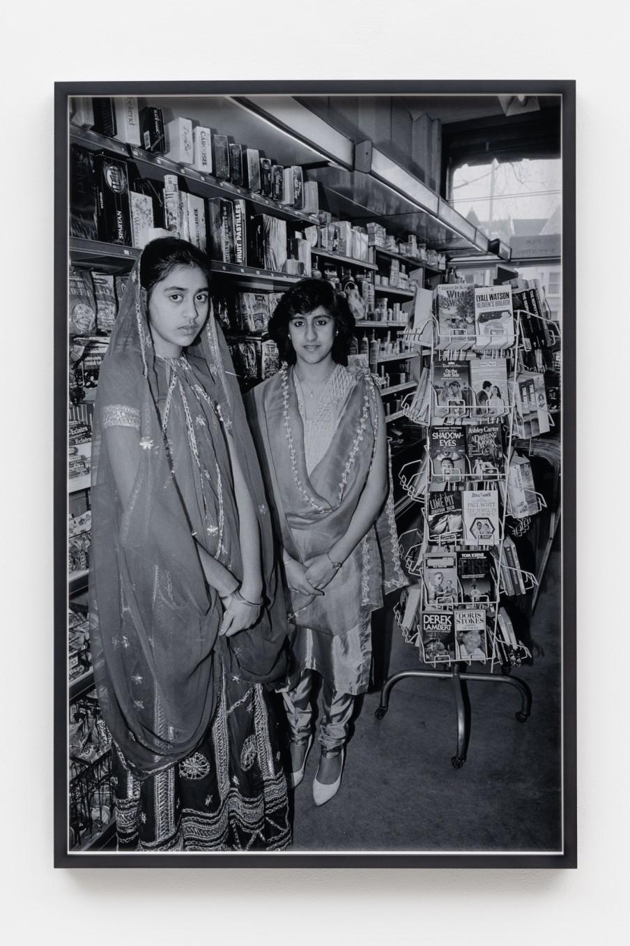 Sunil Gupta Shopkeepers, 1986/2021 Archival inkjet print Print: 90.9 x 59.5 cm 35 3/4 x 23 3/8 in