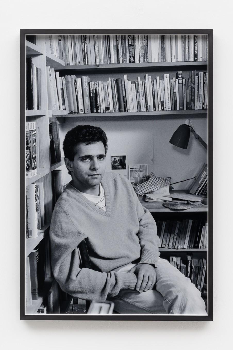 Sunil Gupta Writer, 1986/2021 Archival inkjet print Print: 90.9 x 59.5 cm 35 3/4 x 23 3/8 in