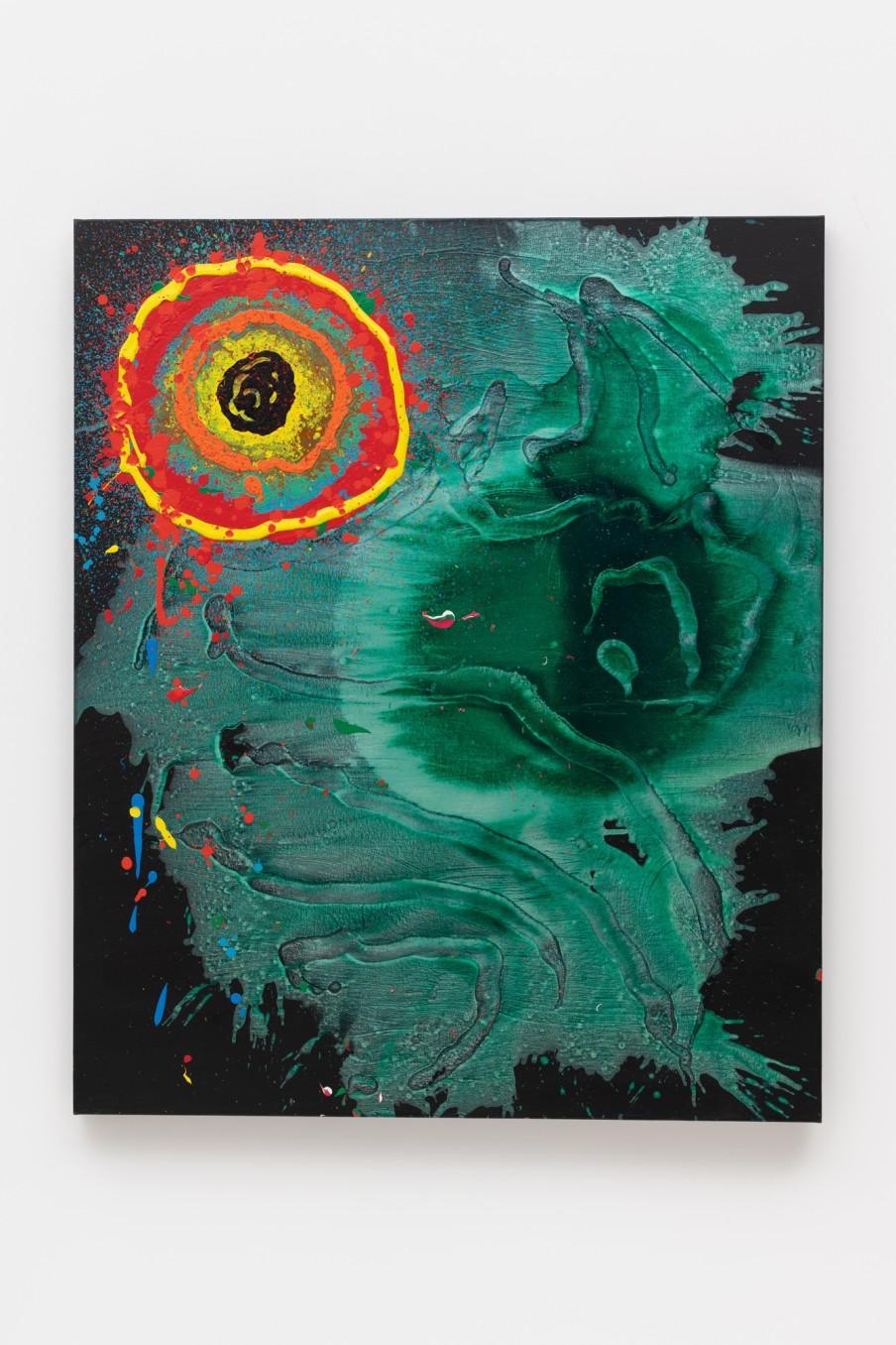 John Hoyland Enchanted Land 30.12.06, 2006 Acrylic on canvas 152.9 x 127 cm 60 1/4 x 50 in