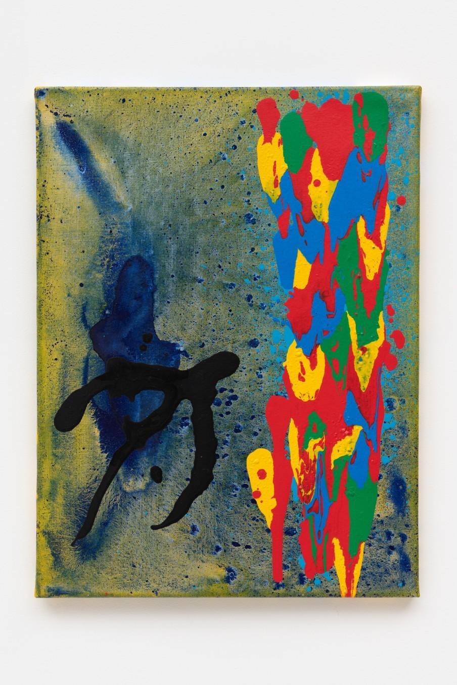 John Hoyland John Crow 6.1.05, 2005 Acrylic on canvas 61 x 45.7 cm 24 x 18 in