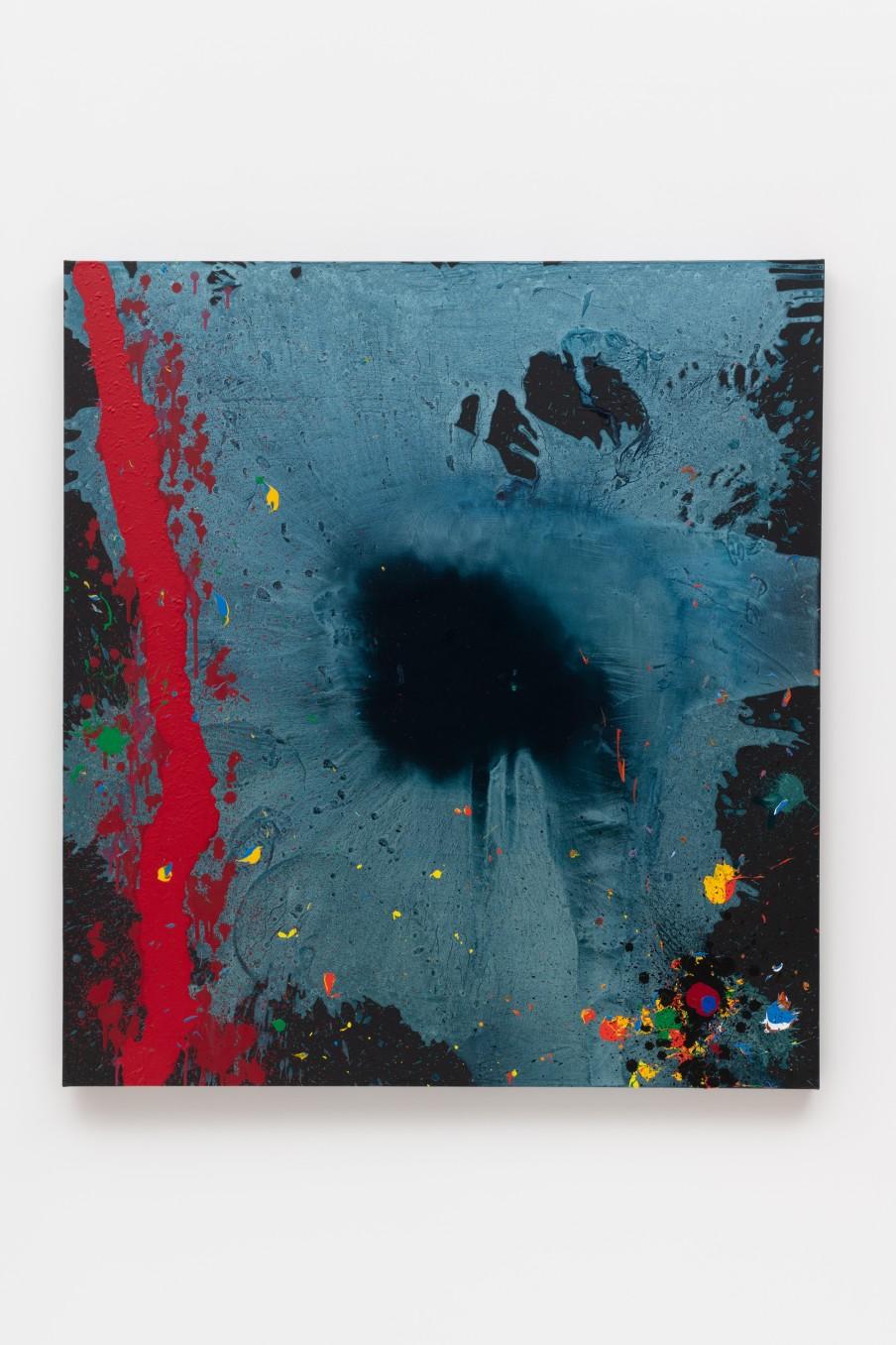 John Hoyland Lost 7.2.10, 2010 Acrylic on canvas 152.7 x 139.8 cm 60 1/8 x 55 1/8 in