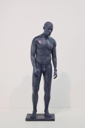 Thomas J Price, Corrance Road, Figure 1, 2008, Bronze Sculpture, 60 x 18 x 17 cm, 23.64 x 7.09 x 6.7 in