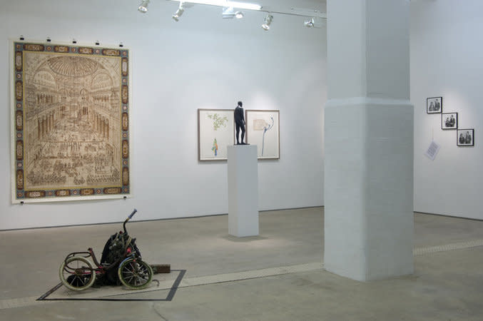 Installation view of The Freedom Centre 'This show will change your life!' at Hales London