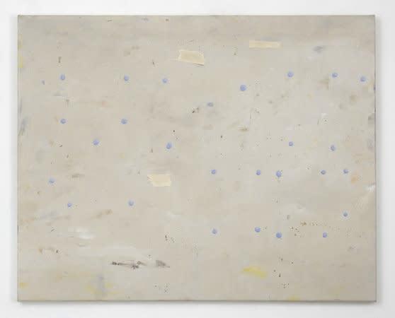 Filippo Caramazza, A wall in Naples (Studio wall), 2009, Oil on linen, 60 x 76 cm, 23.64 x 29.94 in