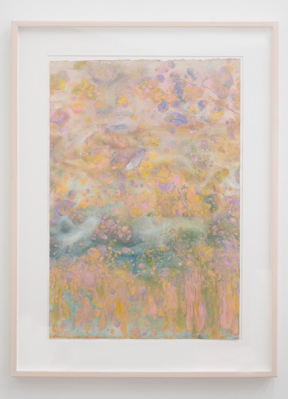 Frank Bowling Autumn Flare, 1986 acrylic paint on paper Unframed: 58 x 39 cm 22 7/8 x 15 3/8 in...