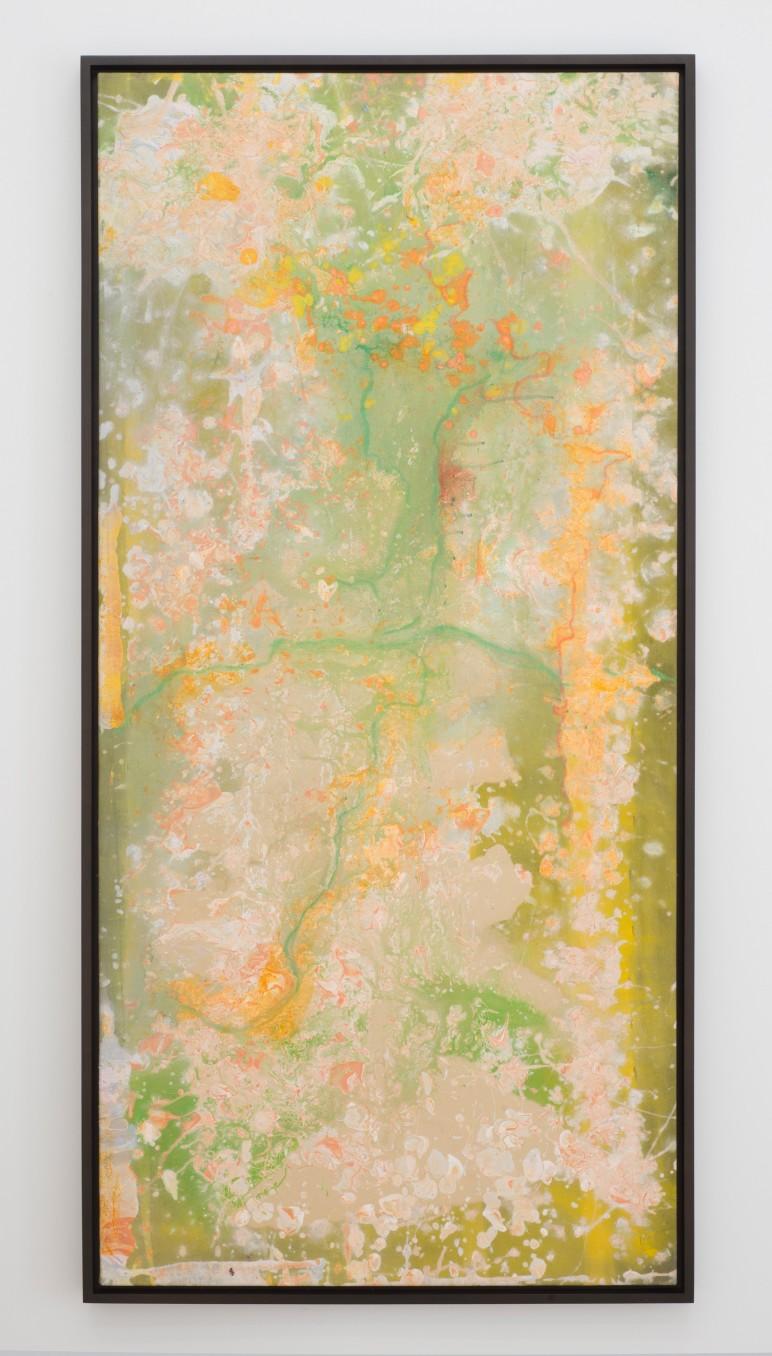 Frank Bowling Potarovines, 1978 acrylic on canvas 172.5 x 81 cm 67 7/8 x 31 7/8 in