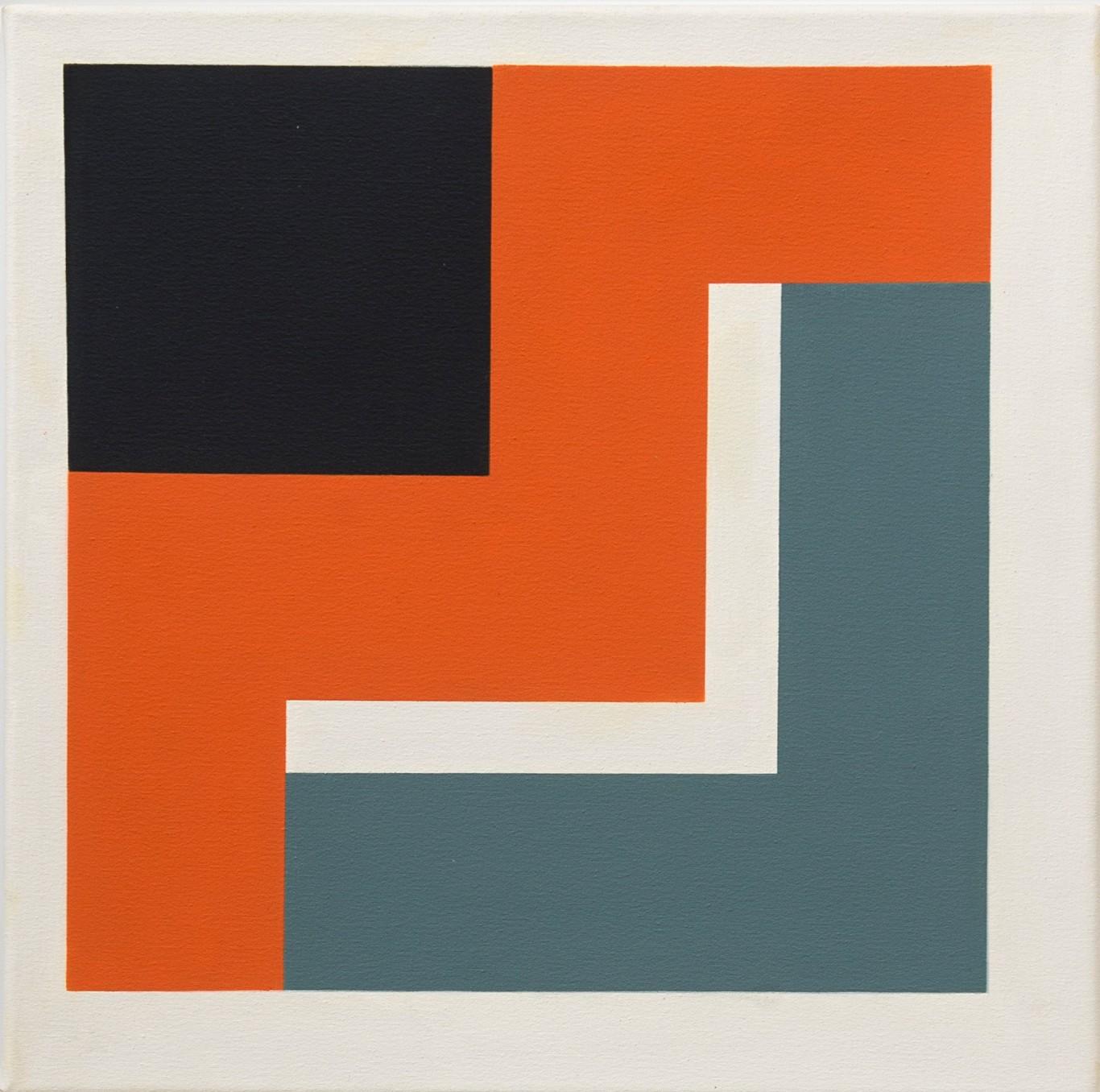 Mary Webb, UTAH VII, 2012, Oil on canvas, 45 x 45 cm, 17 3/4 x 17 3/4 in, Framed: 54.5 x 54.5 x 4 cm, 21 1/2 x 21 1/2 x 1 5/8 in