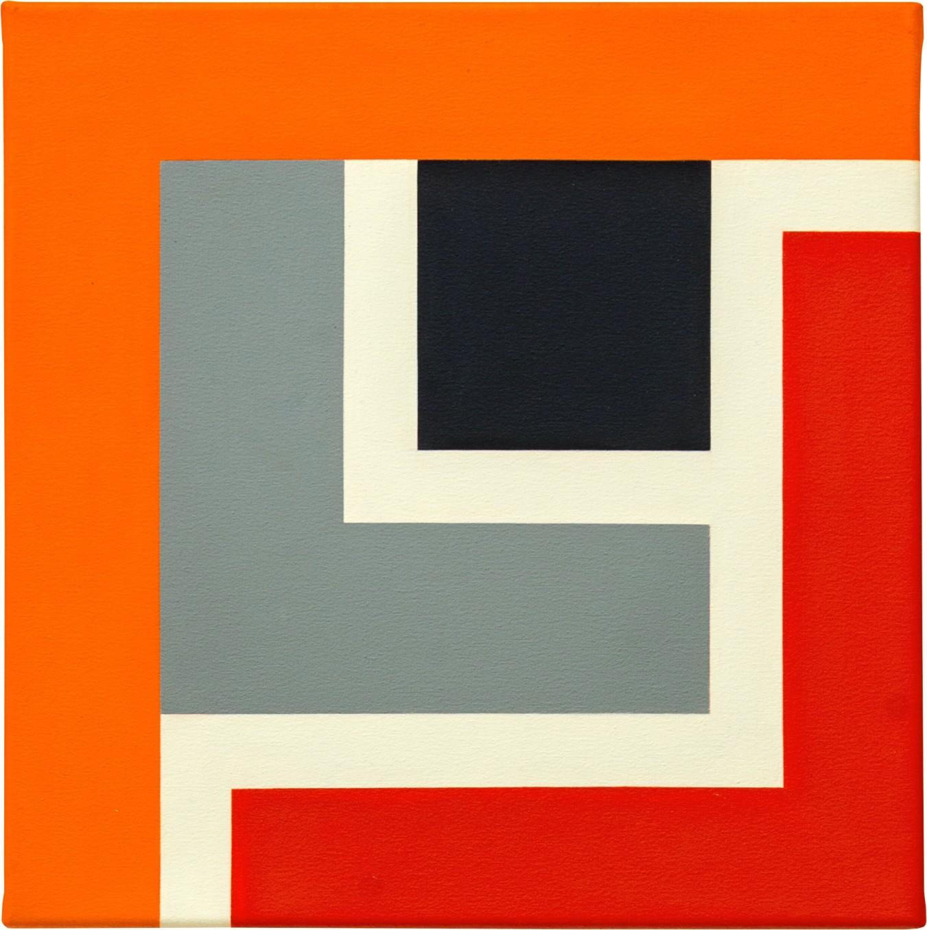 Mary Webb, UTAH XI, 2014, Oil on canvas, 45 x 45 cm, 17 3/4 x 17 3/4 in, Framed: 54.5 x 54.5 x 4 cm, 21 1/2 x 21 1/2 x 1 5/8 in