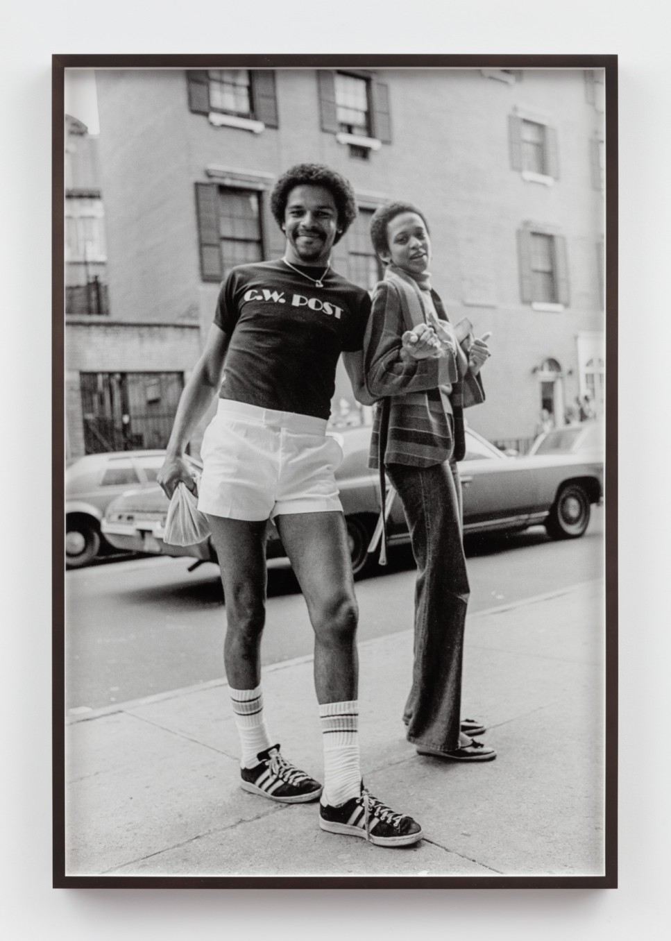 Sunil Gupta, Untitled #36 from the series Christopher Street, 1976/2019, Silver gelatin print, 91.5 x 61.4 cm, 36 1/8 x 24 1/8 in, Framed: 93.7 x 63.5 cm, 36 7/8 x 25 in, Edition of 5 plus 1 artist's proof