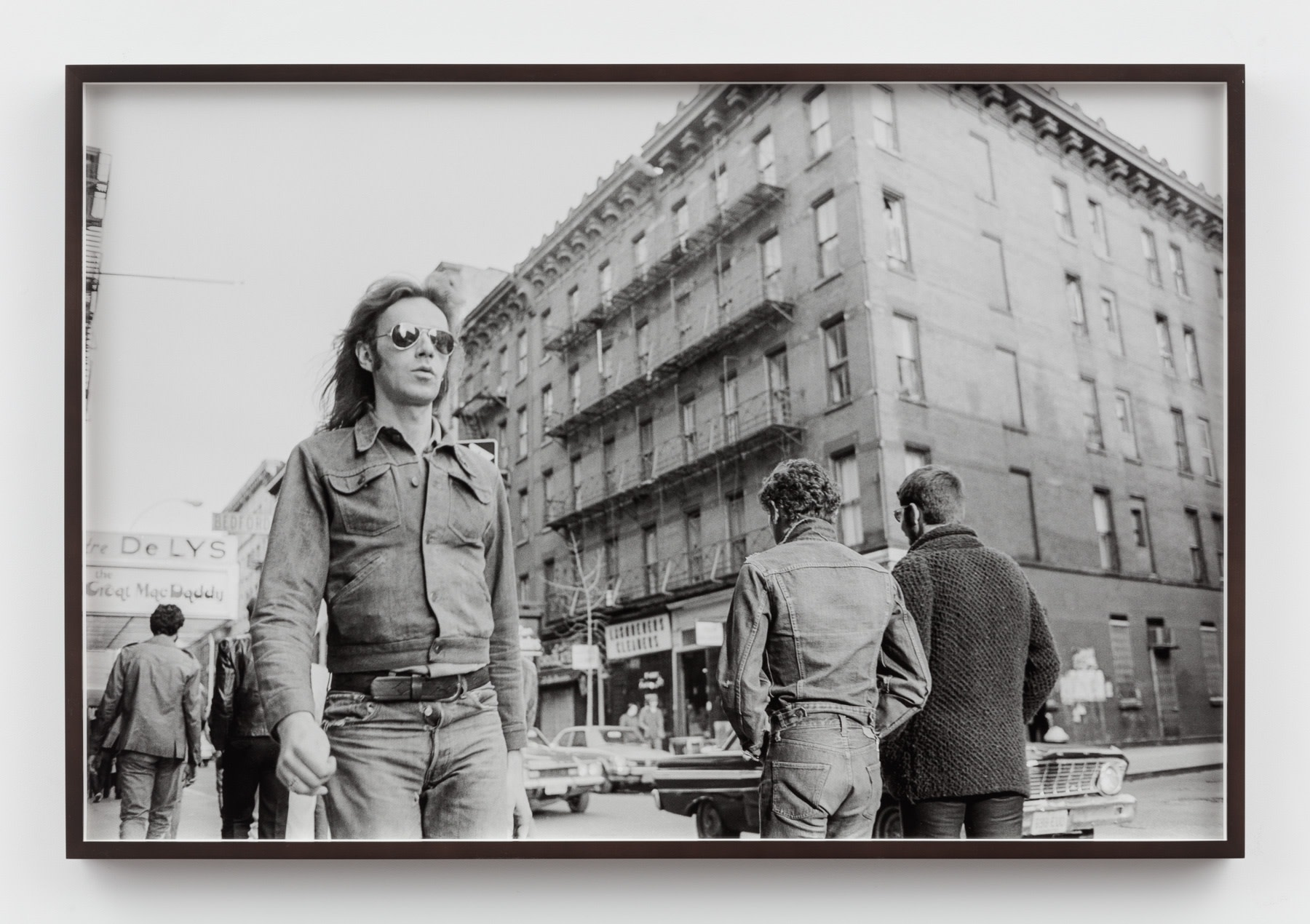 Sunil Gupta, Untitled #37 from the series Christopher Street, 1976/2019, Silver gelatin print, 60.7 x 91.6 cm, 23 7/8 x 36 1/8 in, Framed: 63 x 93.7 cm, 24 7/8 x 36 7/8 in, Edition of 5 plus 1 AP