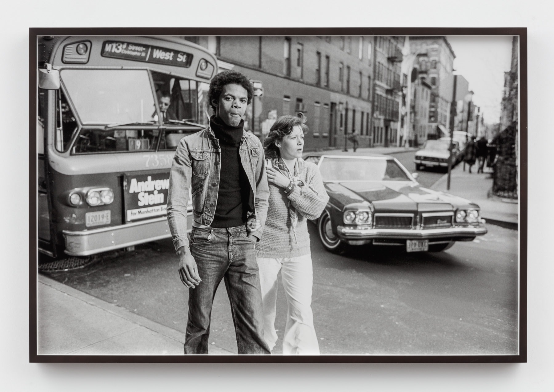 Sunil Gupta, Untitled #42 from the series Christopher Street, 1976/2019, Silver gelatin print, 60.9 x 91.7 cm, 24 x 36 1/8 in, Framed: 63 x 93.7 cm, 24 7/8 x 36 7/8 in, Edition of 5 plus 1 AP