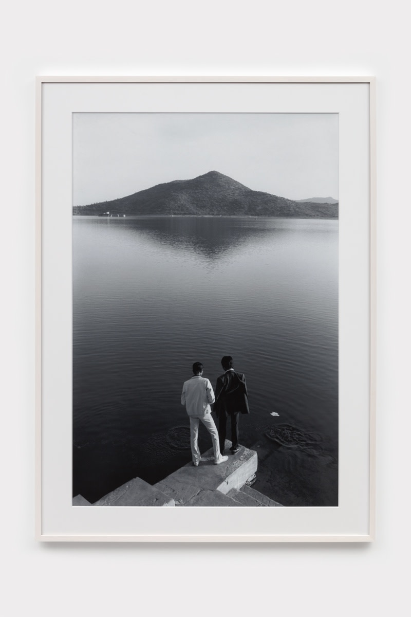 Sunil Gupta Untitled #03 Lake Pichola, Udaipur, 1983 Archival inkjet print 111.8 x 73.7 cm 44 x 29 in