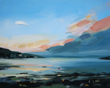 Colin Cook, Lochranza at dusk - Arran