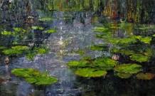 Lana Okiro, Water Lily Pond I