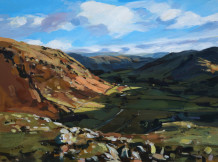 Colin Cook, Down the Langdale Valley from the 'Band'