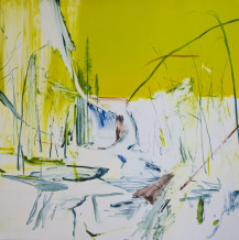 Calum McClure, Yellow Sky and Waterfall