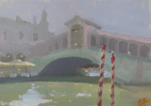 Michael Ashcroft MAFA, Academia Bridge, Venice