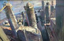 Rob Pointon AROI RBSA MAFA, Metropolis, 2018