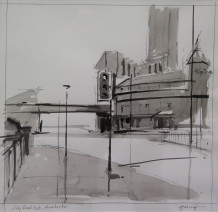 Michael Ashcroft MAFA, Cross Street (1), 2018