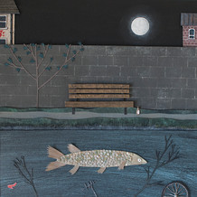 Hannah Battershell, Beneath The Canal Waters, 2017
