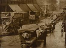 Minna Keene, Street scene Berlin, circa 1900