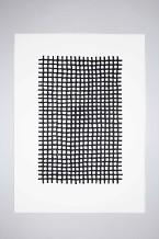 Veronica Herber, 522x4=2088 Black Grid Fine, 2015