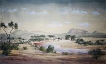 "Jeremy Hammick Born 1956SAMBURU NORTH KENYA Watercolour 29"" x 19"""