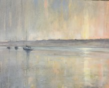 "Jethro Jackson Born 1979MYLOR SUNRISE Oil on board 16"" x 20"""