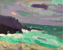 Sam Wadsworth, Porthmeor Twilight, 2015