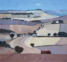 """Mary Pym  Born 1935BY CRANBOURNE CHASE  Oil on board  24"""" X 24"""""""