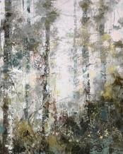 """Paul Treasure  Born 1961SILVER AND BRAMBLE  Oil on canvas  47"""" x 63"""""""