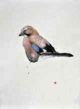 "Karl Martens Born 1956JAY Watercolour 29"" x 21"""