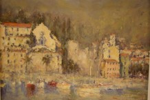 "John Tiplady  Born 1938SANTA MARGHERITA  Signed lower right, Tiplady  Oil on canvas  18"" x 23"""