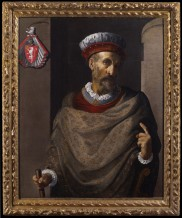 Domenico Fetti, Portrait of a member of the Anguisola Family, Early 17th Century