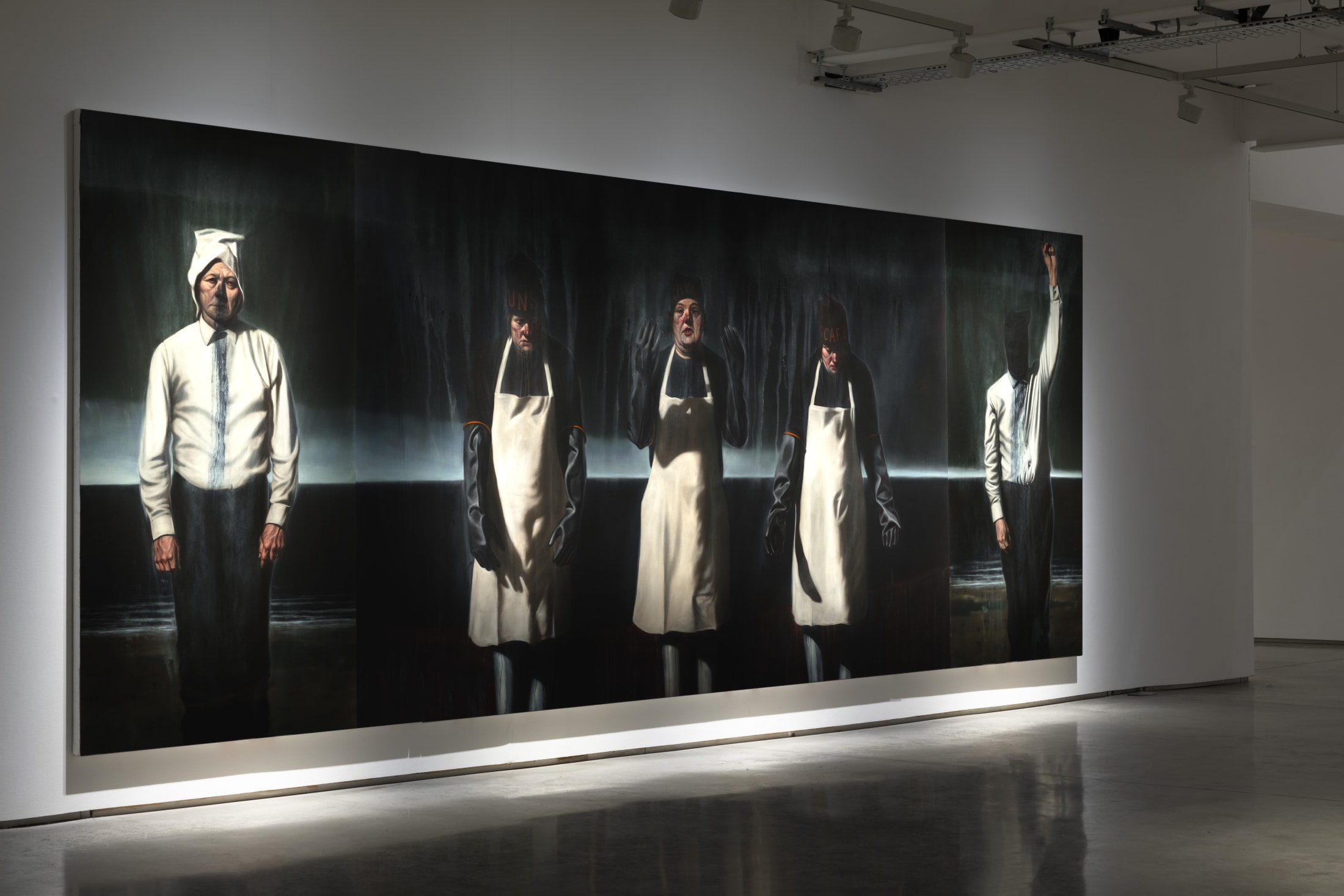 To accompany the exhibition, the large-scale triptych Revenant-Three Sisters-Plague Finger will be available to view by appointment in London from...