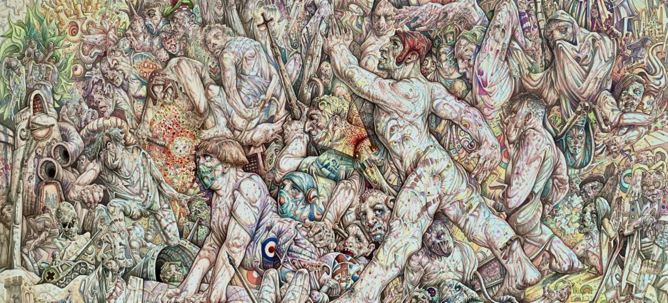 Peter Howson: When the World Changed The Lockdown Drawings