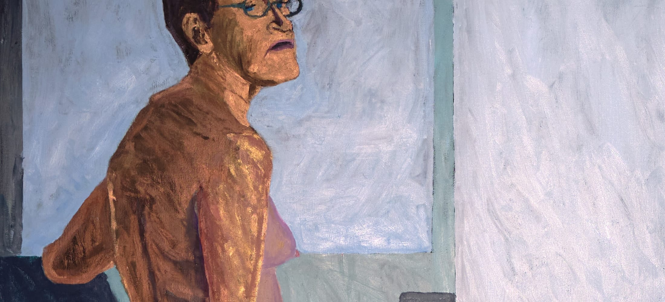 Lucy Jones' Being 66, Being wins the Ruth Borchard Self-Portrait Prize