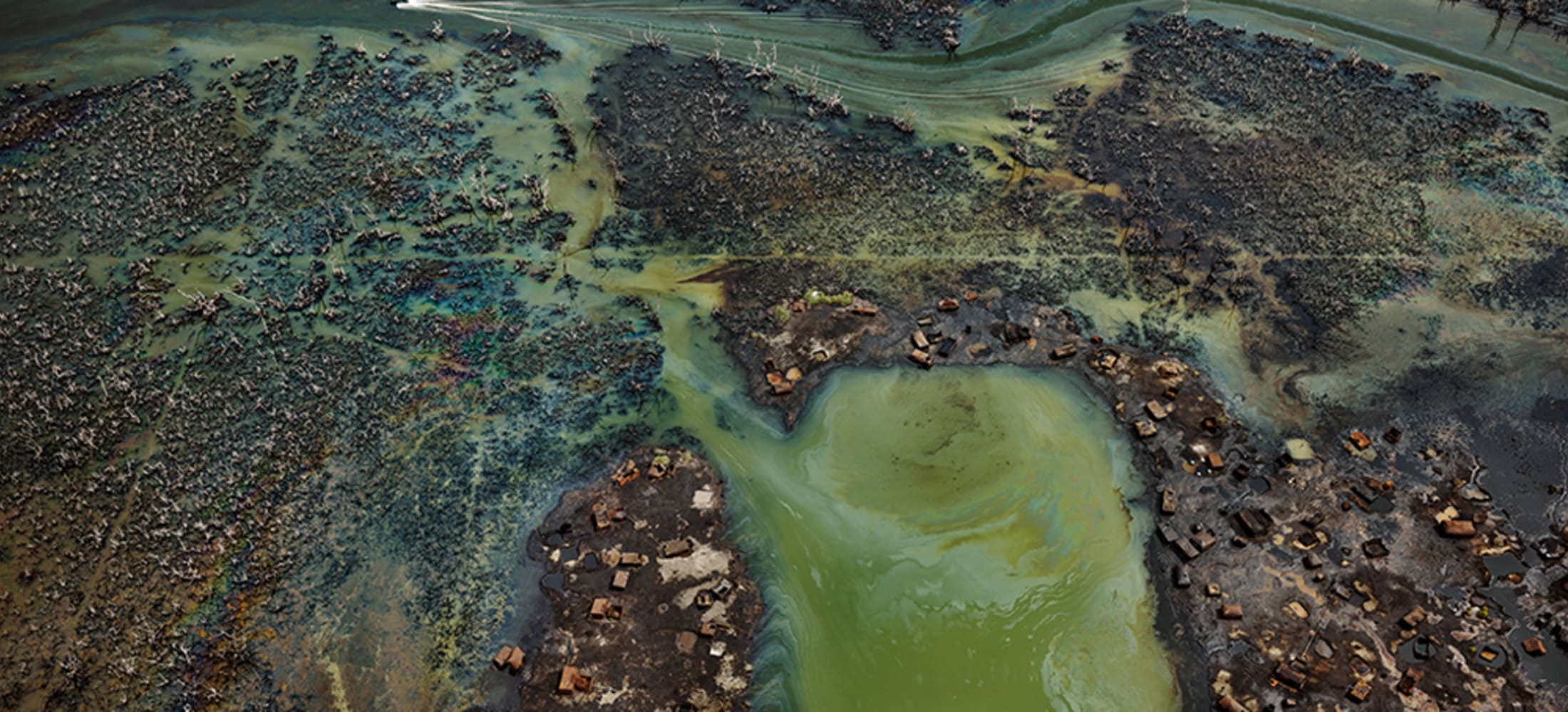 Edward Burtynsky featured in Anthropocene