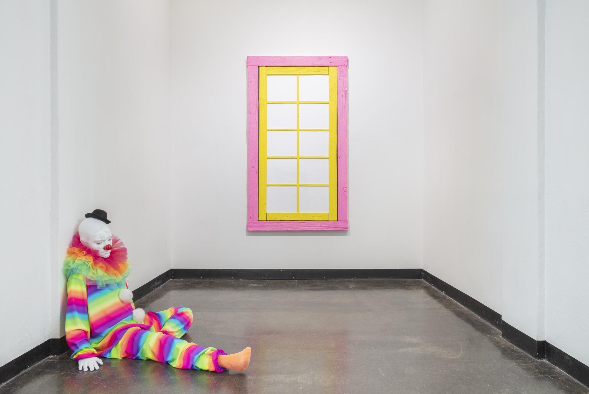 Exhibition view: Ugo Rondinone, everyone gets lighter, 2019, Kunsthalle Helsinki, 2019. Photo © Angel Gil