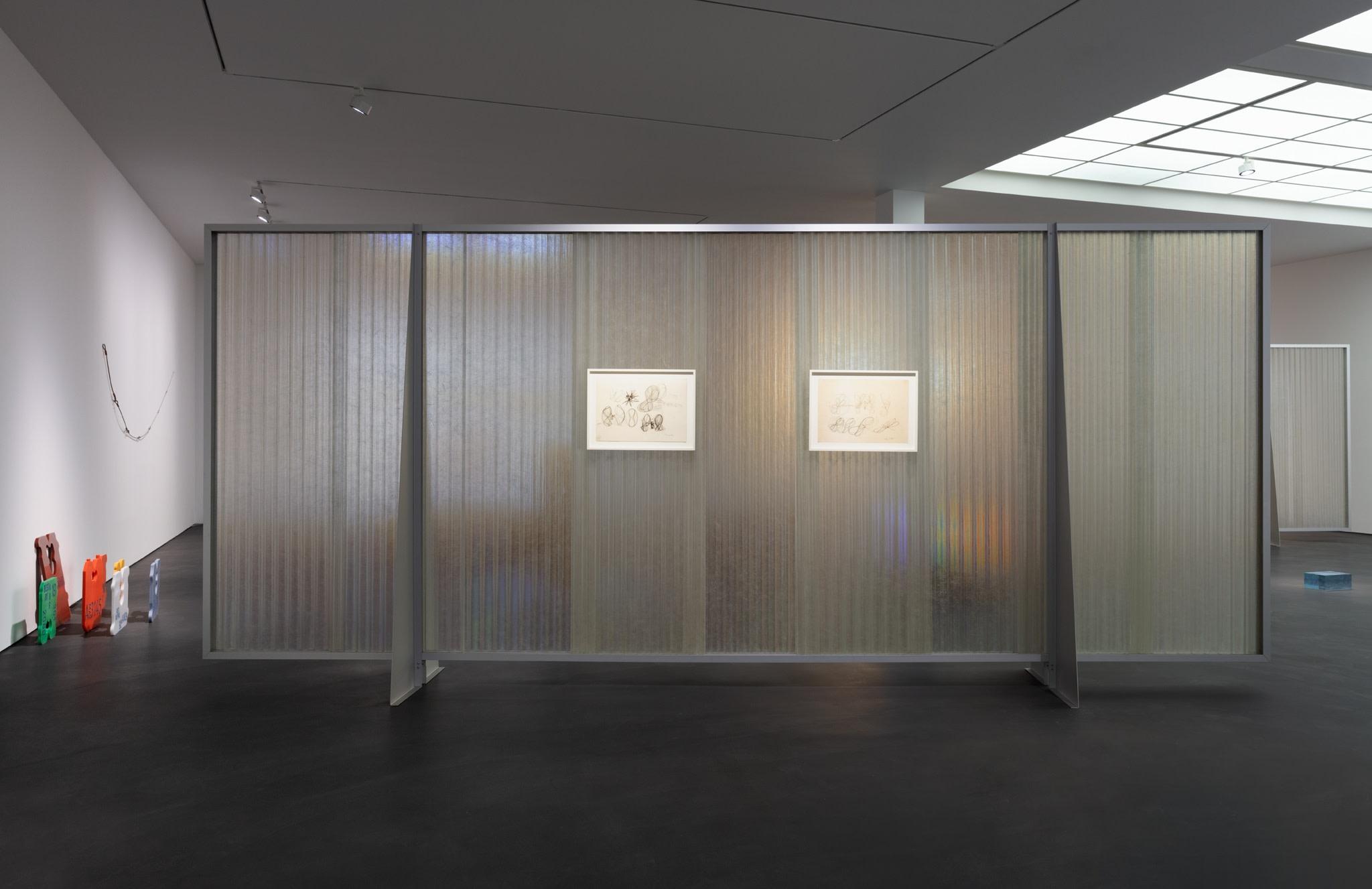 Exhibition view: PS81E, Esther Schipper, Berlin, 2020. Photo © Andrea Rossetti