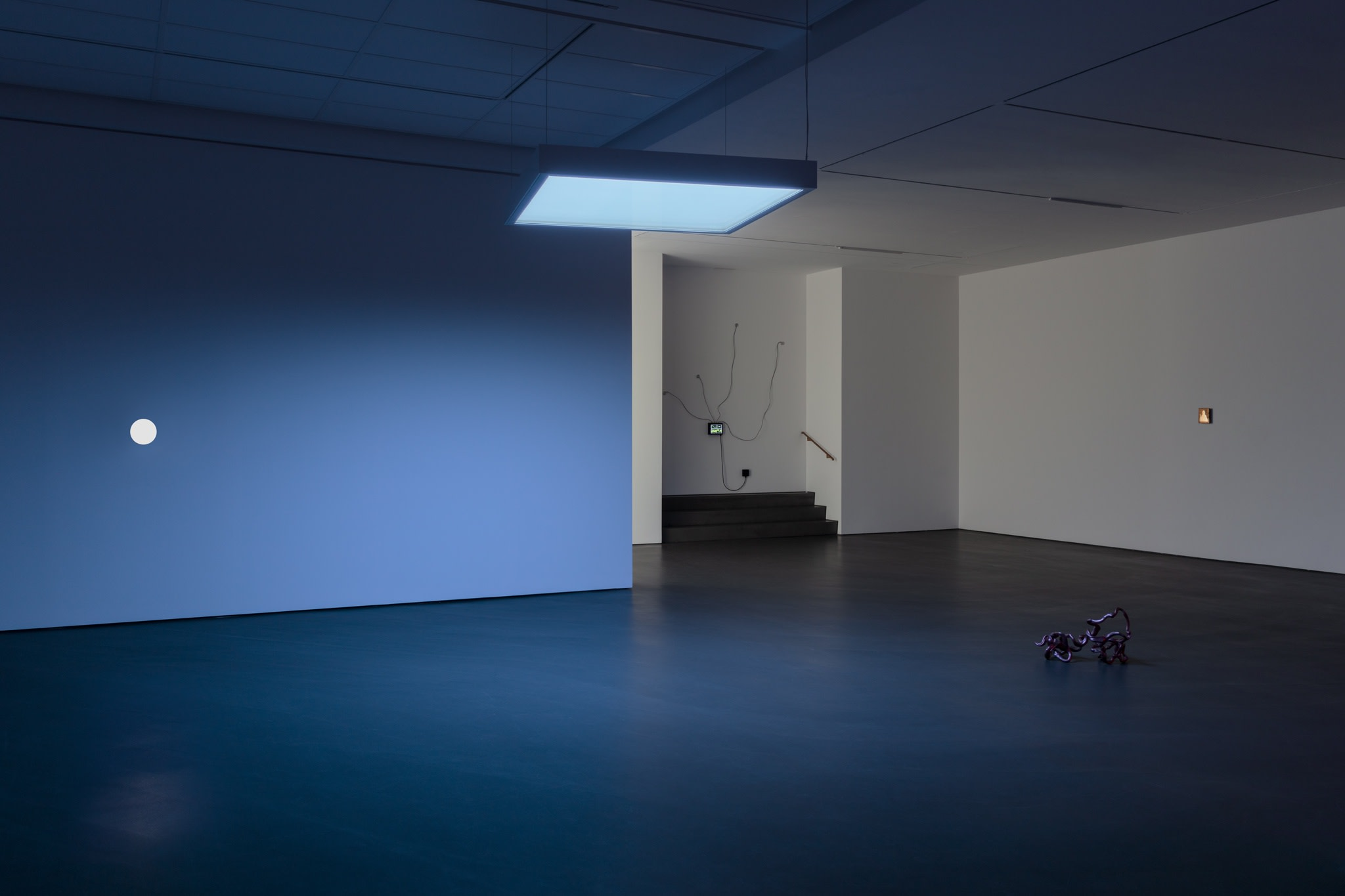 Exhibition view: Etienne Chambaud, Inexistence, Esther Schipper, Berlin 2021. Photo © Andrea Rossetti