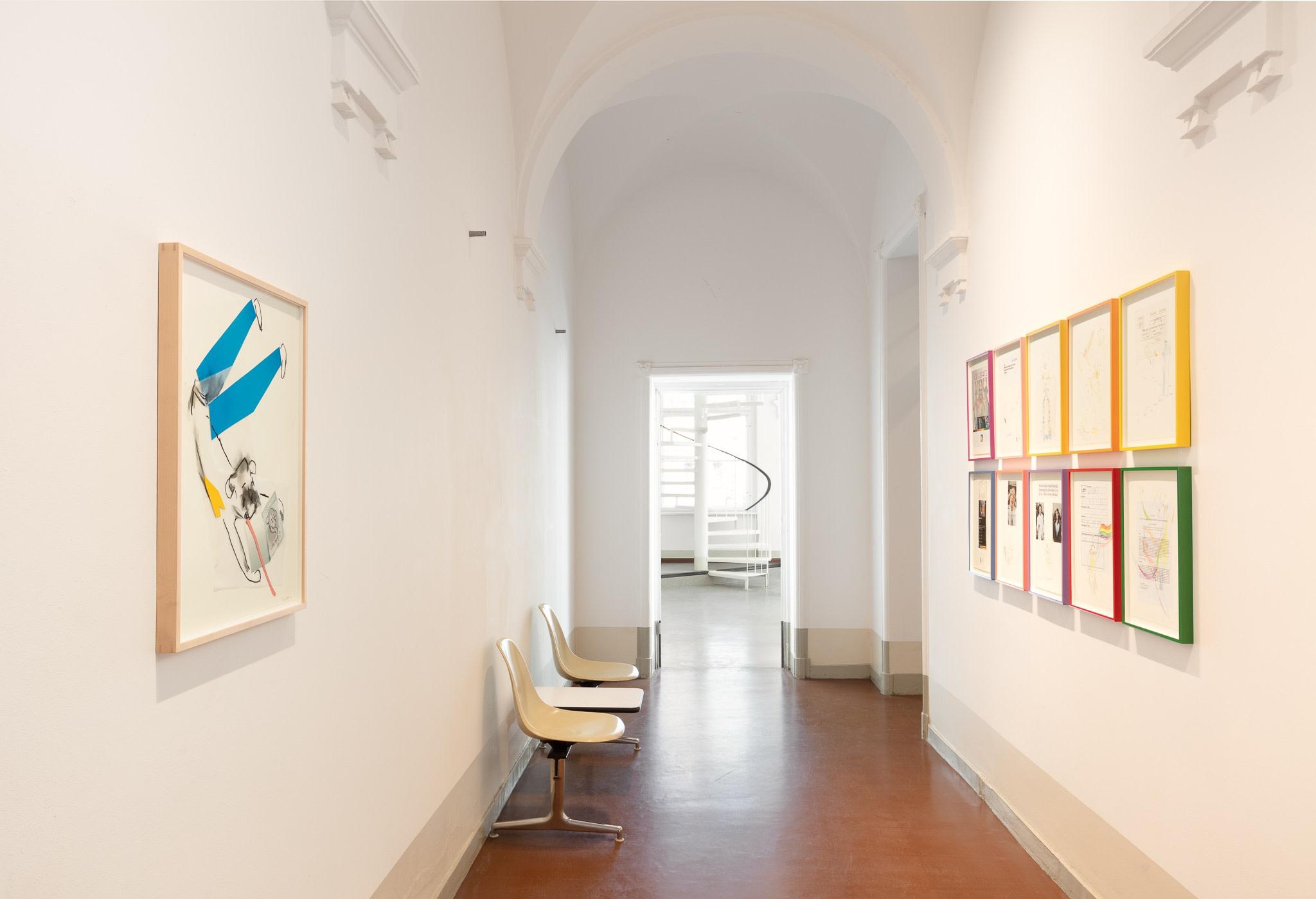 Exhibition view: AMTSALON, Berlin. Photo © Andrea Rossetti