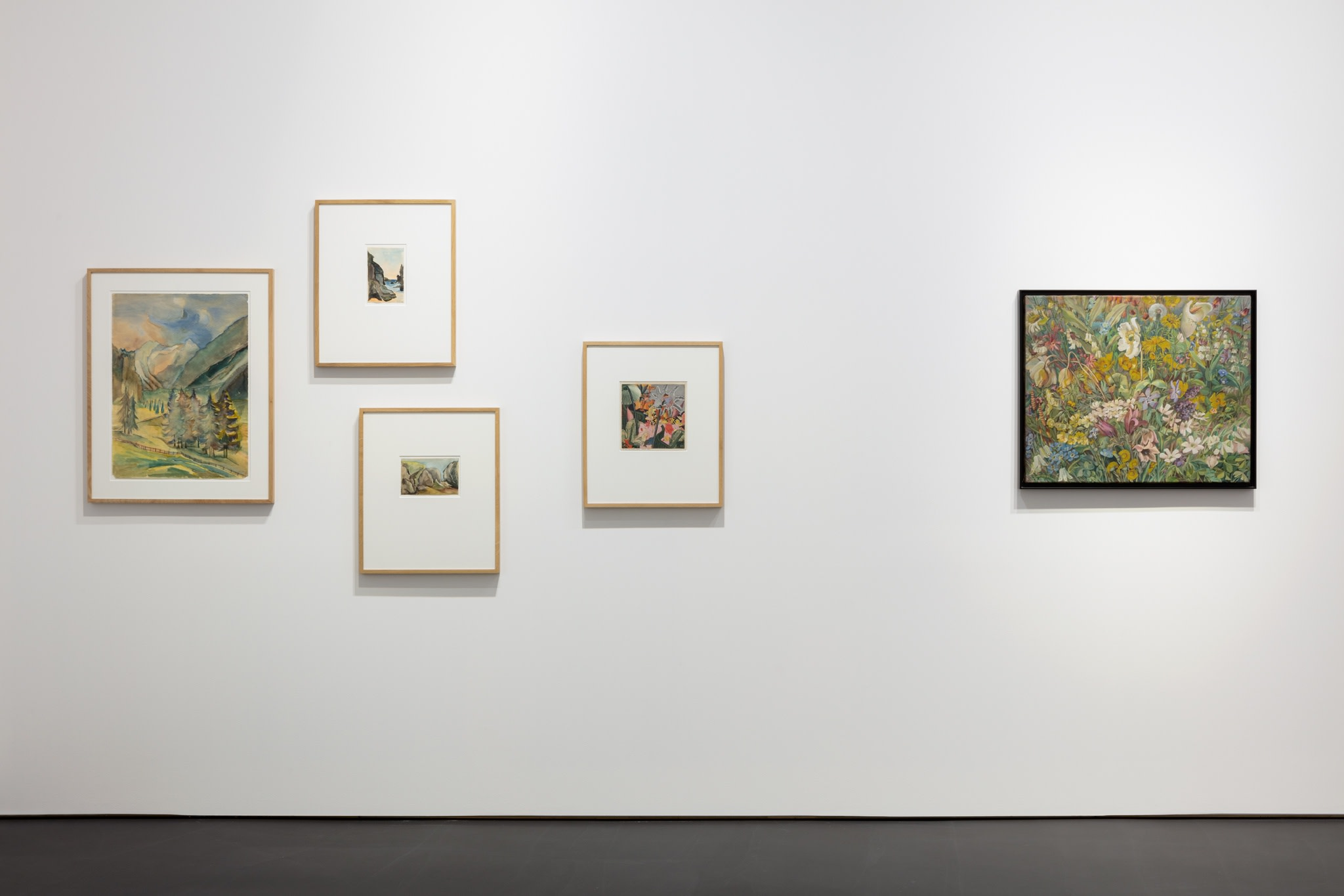 Works by Hannah Höch. Exhibition view: L'Invitation au voyage, Esther Schipper, Berlin. Photo © Andrea Rossetti