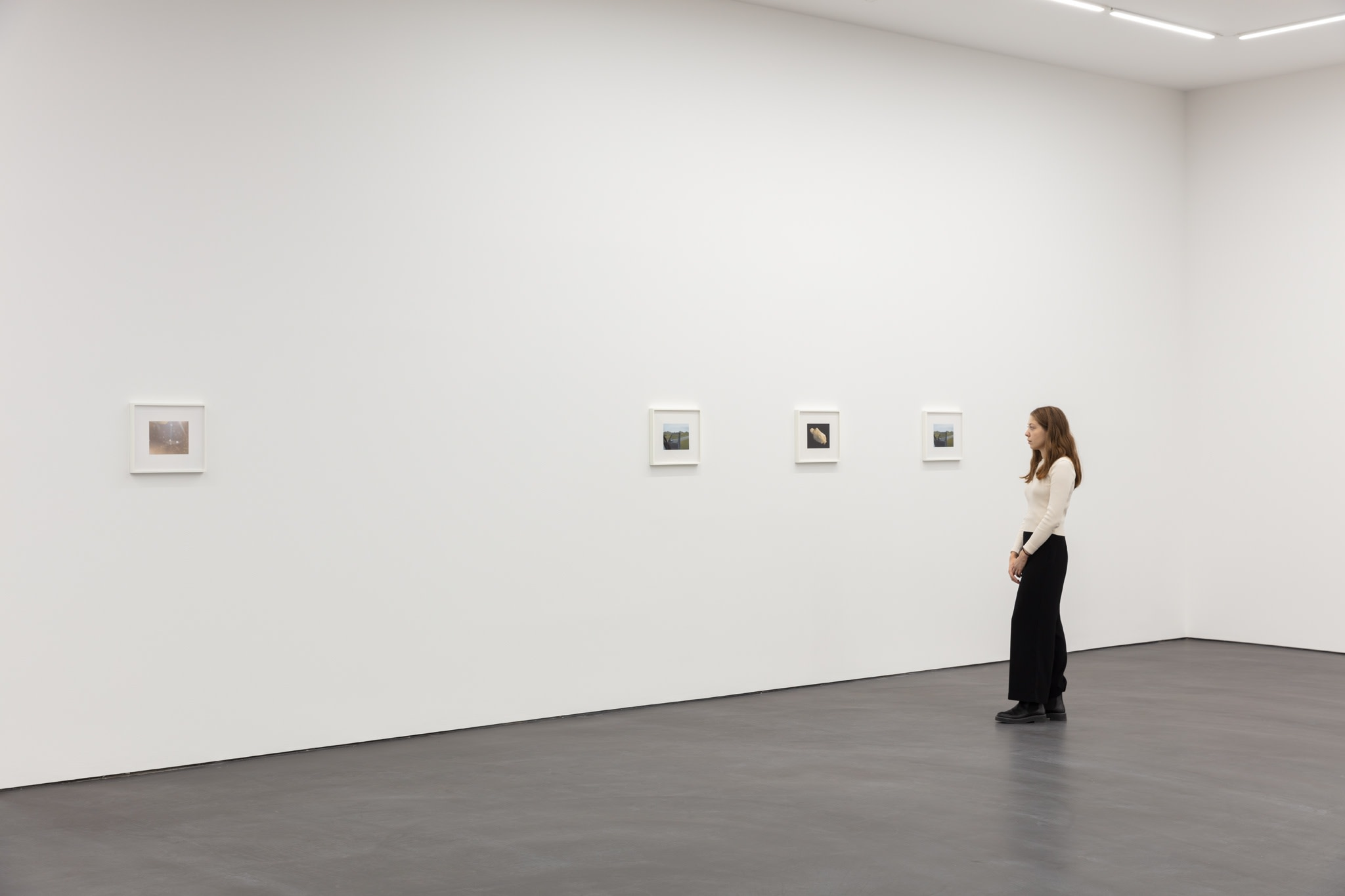 Exhibition view: Andrew Grassie, Still Frame, Esther Schipper, Berlin, 2020. Photo © Andrea Rossetti