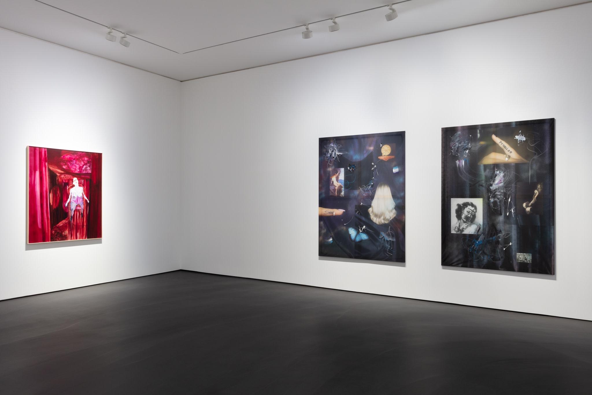 Exhibition view: L'Invitation au voyage, Esther Schipper, Berlin. Photo © Andrea Rossetti