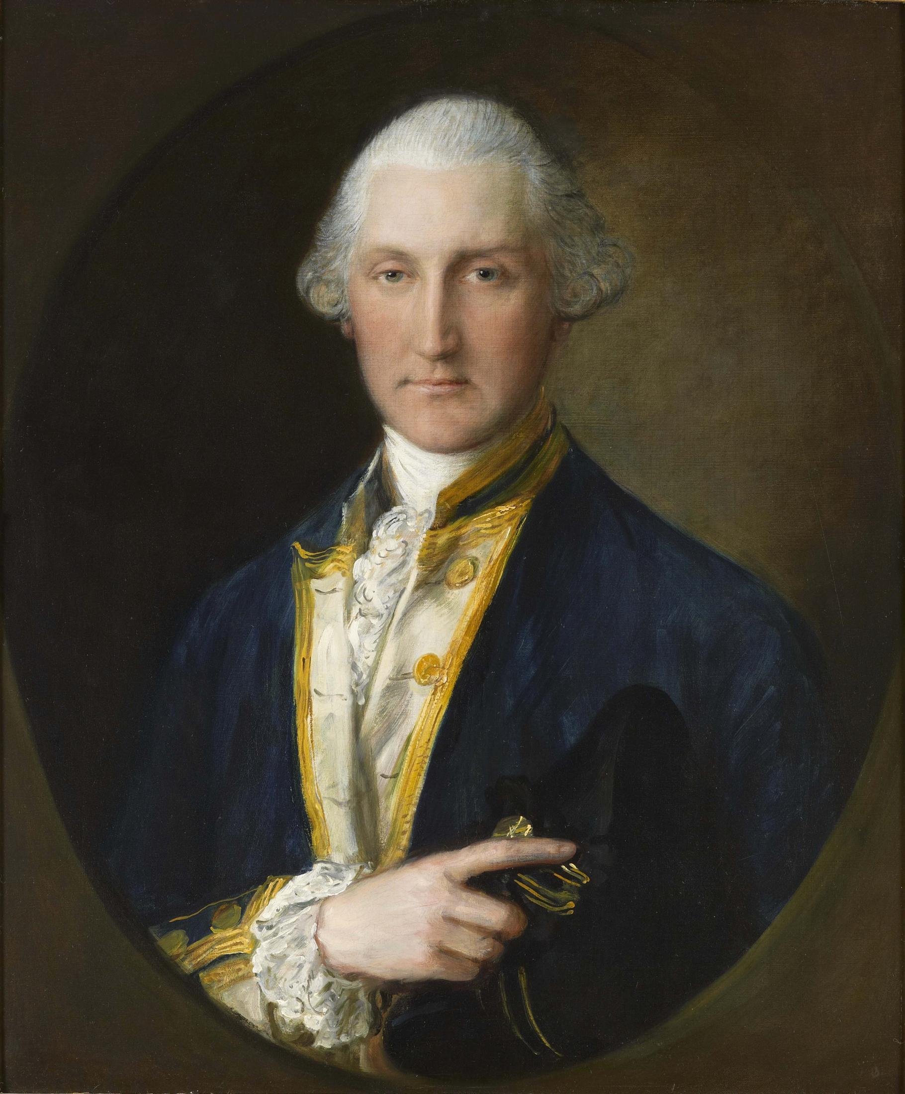 Portrait of Lord William Campbell, M.P., Last British Governor of South Carolina