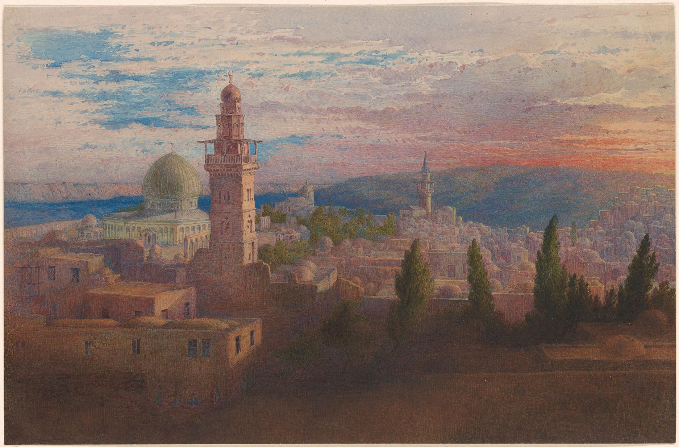 Jerusalem from the House of Herod