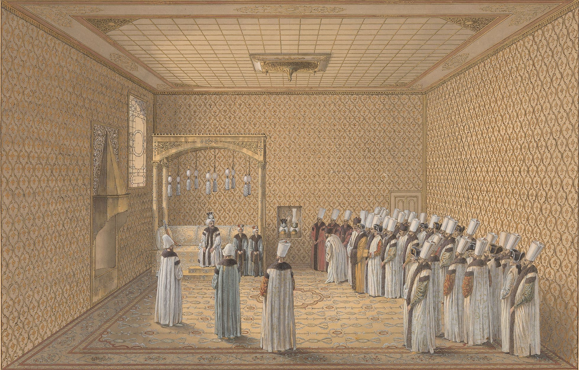 The Presentation of an Ambassador to the Sultan in the Topkapi Palace