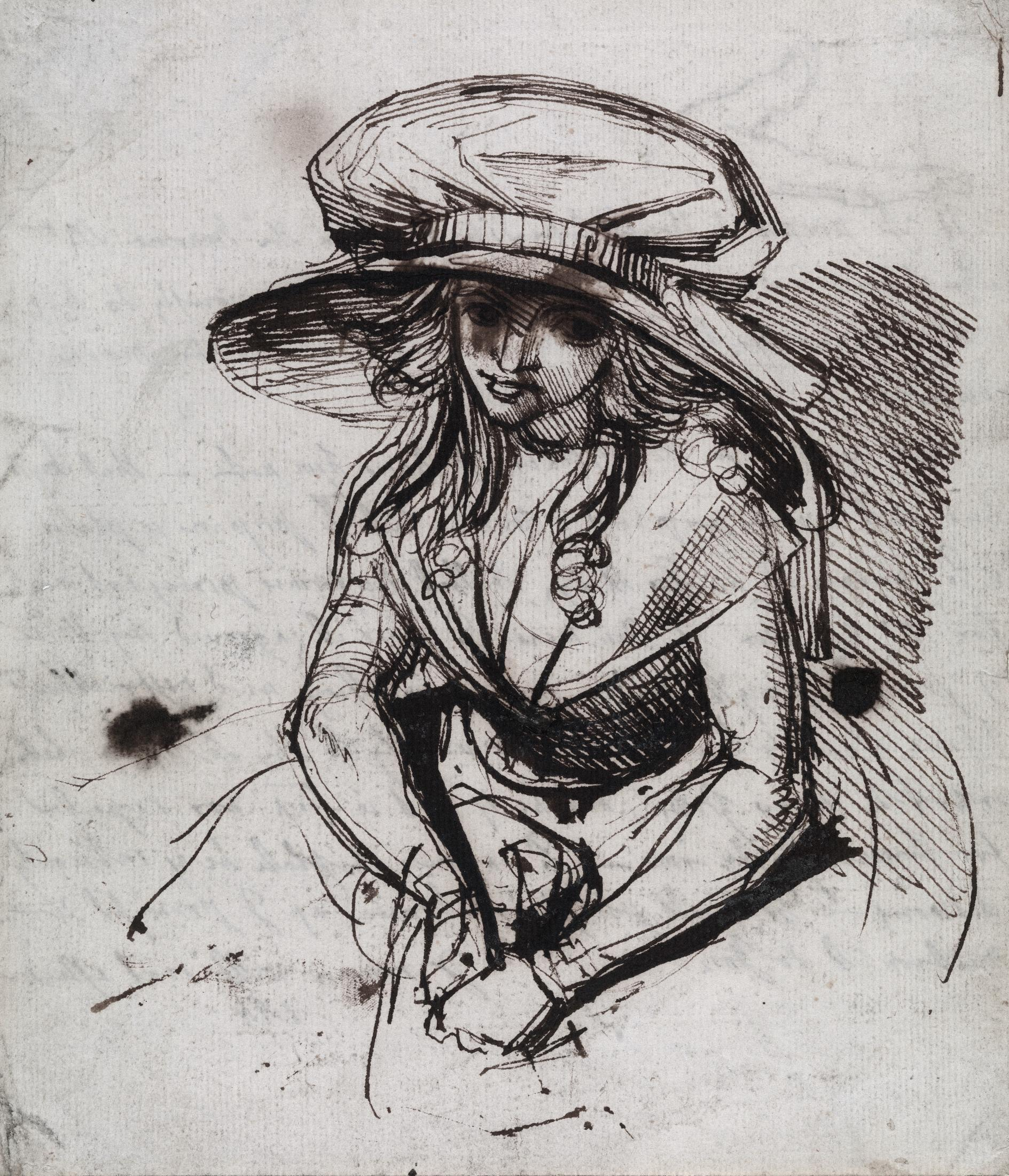 Study of a Woman in a Bonnet, probably Mrs. Fuseli